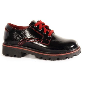 Туфли подростковые для девочек 07216-330 HAPPY FAMILY фото