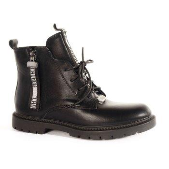 Ботинки подростковые для девочек HF216-1B BESSKY фото