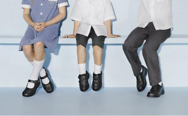 обувь в школу