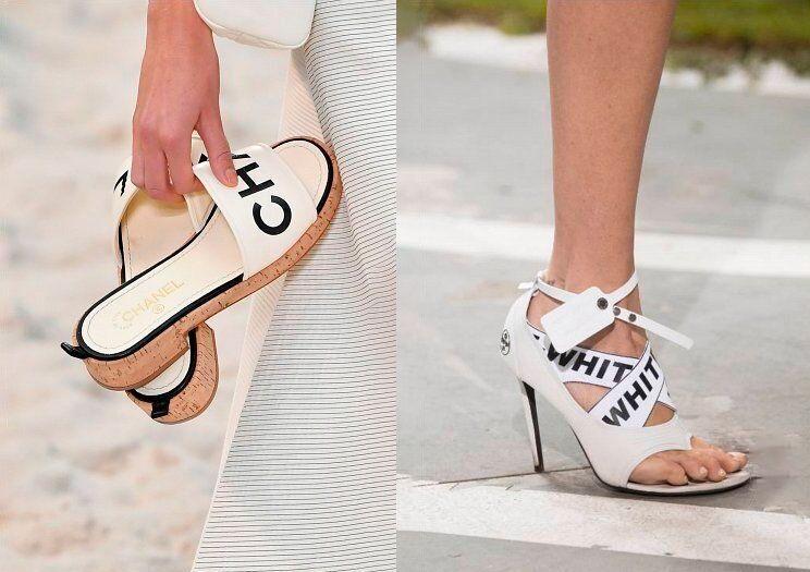 Летняя женская обувь 2019