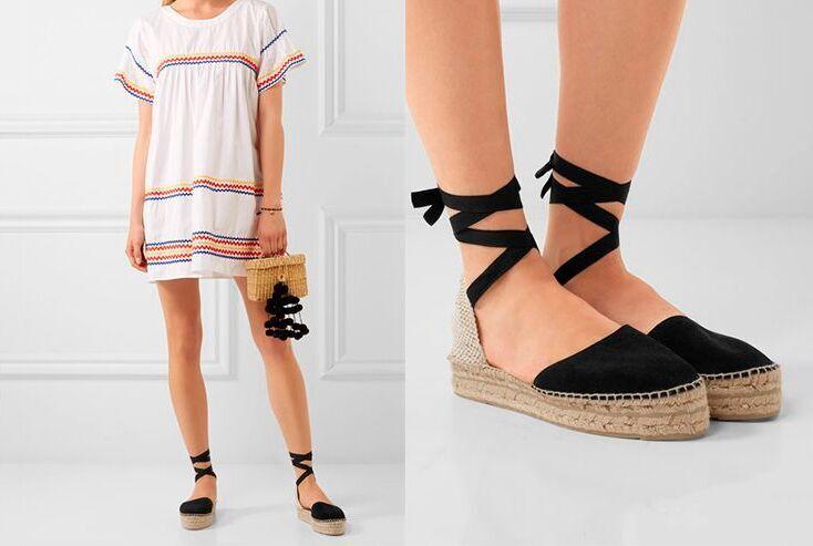 Виды женской обуви на лето